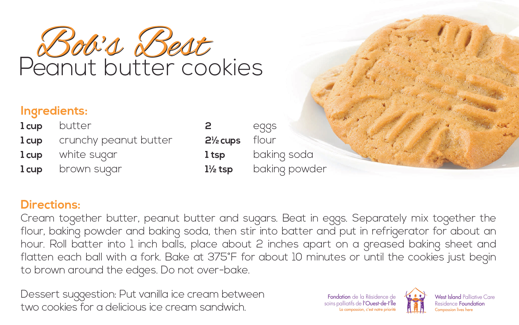 Favourite cookie recipe